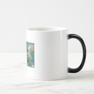 Out For A Dip by Jordan Lanier Magic Mug