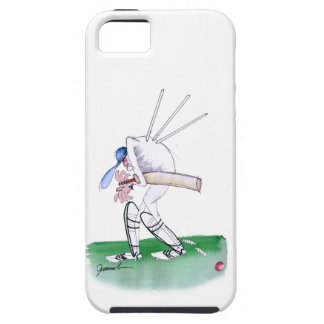 out for a duck - cricket, tony fernandes iPhone SE/5/5s case