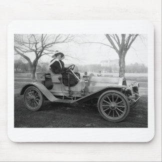 Out for a Ride, early 1900s Mouse Pad