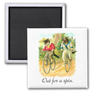 Out for a spin 2 inch square magnet