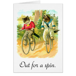 Out for a spin card
