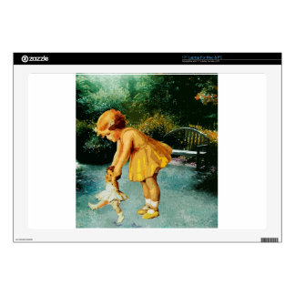 """OUT FOR A STROLL IN THE GARDEN 17"""" LAPTOP SKINS"""