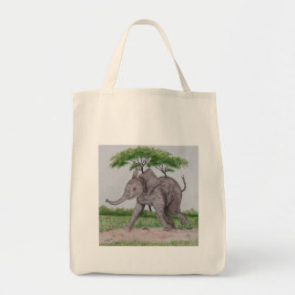 Out For A Walk Tote Bag