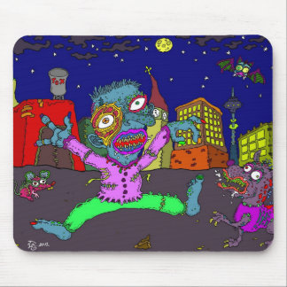 out for a walk mouse pad