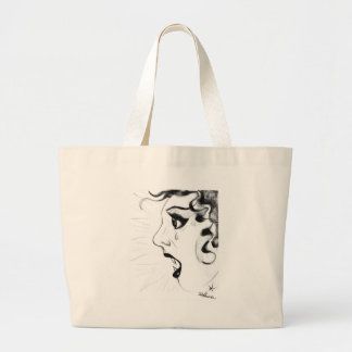 Out-For-Blood Large Tote Bag
