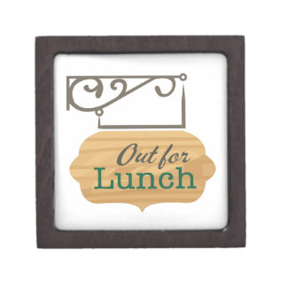 Out For Lunch Premium Trinket Box