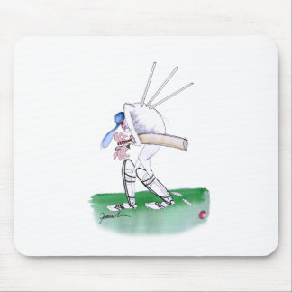 out for nought - cricket, tony fernandes mouse pad