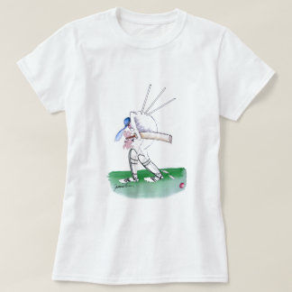 out for nought - cricket, tony fernandes T-Shirt