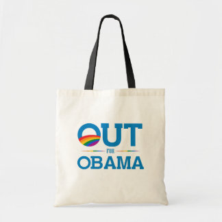 Out for Obama Tote Bag