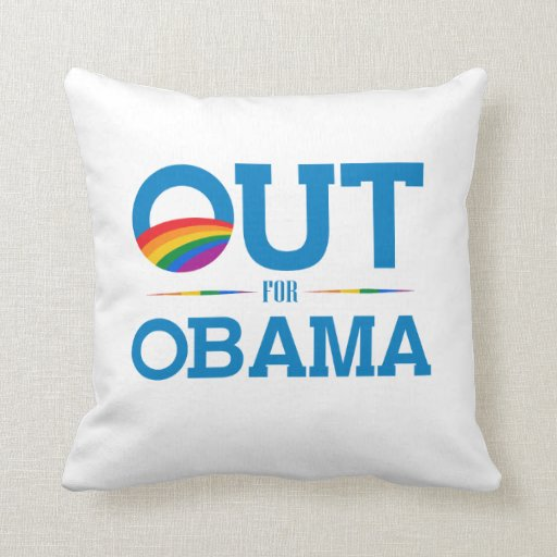 Out for Obama Pillow
