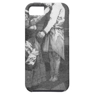 Out hunting for teeth by Francisco Goya iPhone SE/5/5s Case