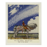 Out Into the Wide World by John Bauer Poster