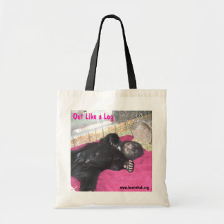 Out Like a Log Tote Tote Bags