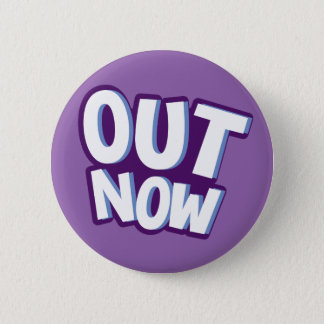 Out now call to action callout cartoon button