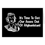 Out of Afghanistan Greeting Cards