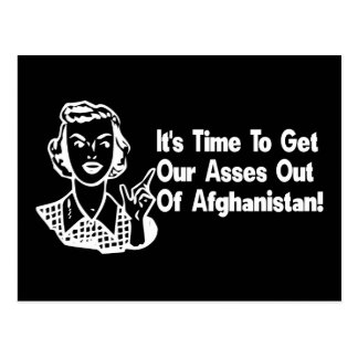 Out of Afghanistan Postcard