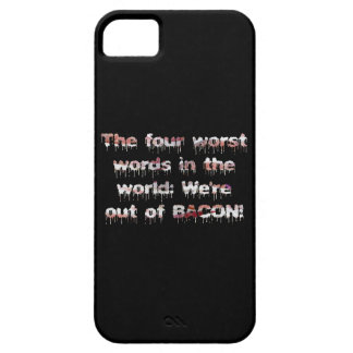 Out of BACON?! iPhone 5 Case