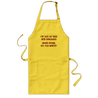 Out of Bed Long Apron