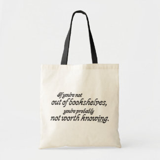 Out of Bookshelves Bags