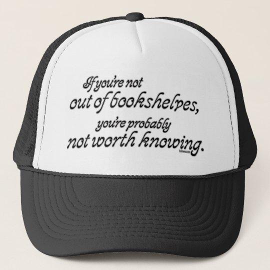 Out of Bookshelves Trucker Hat