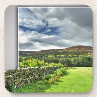 Out of bounds Yorkshire wall Drink Coaster
