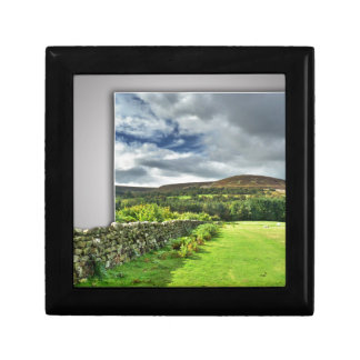 Out of bounds Yorkshire wall Keepsake Box