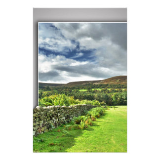 Out of bounds Yorkshire wall Stationery Paper