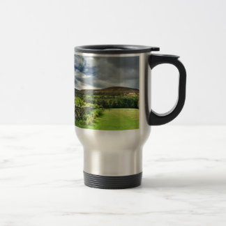 Out of bounds Yorkshire wall Travel Mug