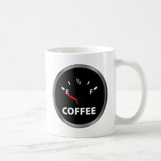 Out of Coffee Fuel Gauge Coffee Mug
