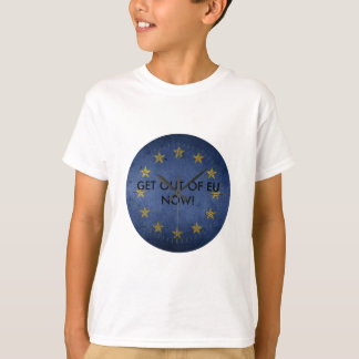 OUT OF EU NOW CLOCK -TIME IS TICKING! T-Shirt