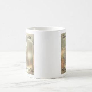 Out of Focus: Cowgirl and Buckskin Coffee Mug