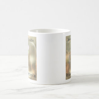 Out of Focus: Cowgirl and Buckskin Classic White Coffee Mug
