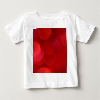 Out of Focus Red Lights Circles Baby T-Shirt