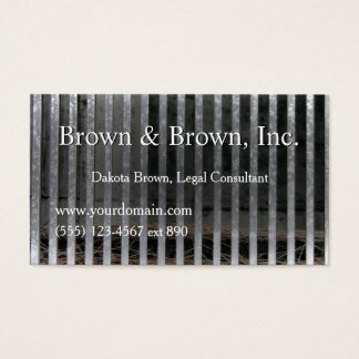 Out of Jail Lawyer Legal Private Eye Customized Business Card