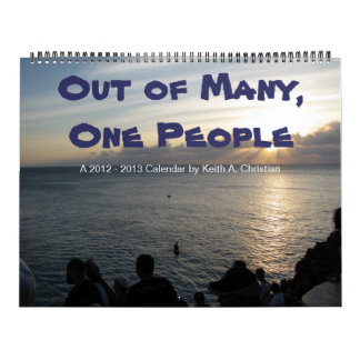 Out of Many, One People Calendar