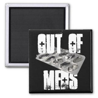 Out of Meds Black Magnet