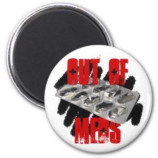Out of Meds Magnet magnet