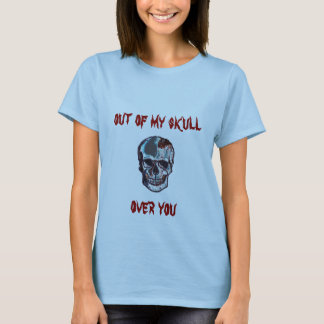 Out of My Blue Skull T-Shirt