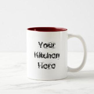 Out of My Kitchen Saying Customizable Mug