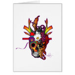Out Of My Skull Greeting Cards