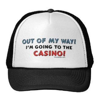 Out of My Way Casino Trucker Hat