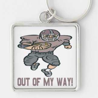 Out Of My Way Key Chain
