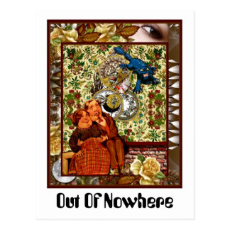 Out Of Nowhere Postcard