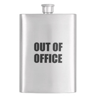 Out Of Office Funny Flask