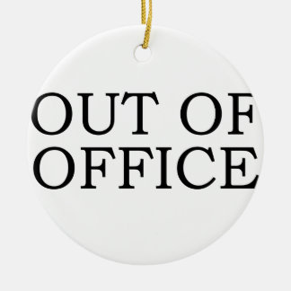 out of office ornaments