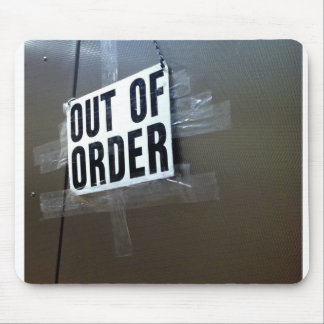Out Of Order Computer Mouse Pad