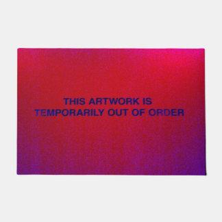 Out of Order Door Mat