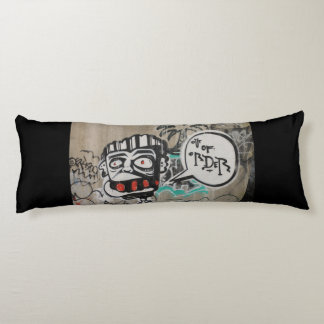 Out Of Order Graffiti Body Pillow