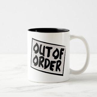Out Of Order Mug