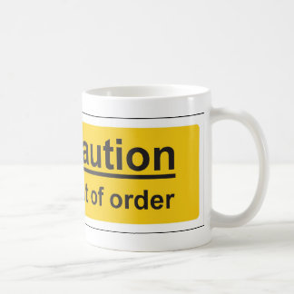 out of order coffee mugs